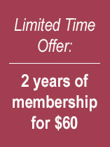 2 Years of Membership Sale
