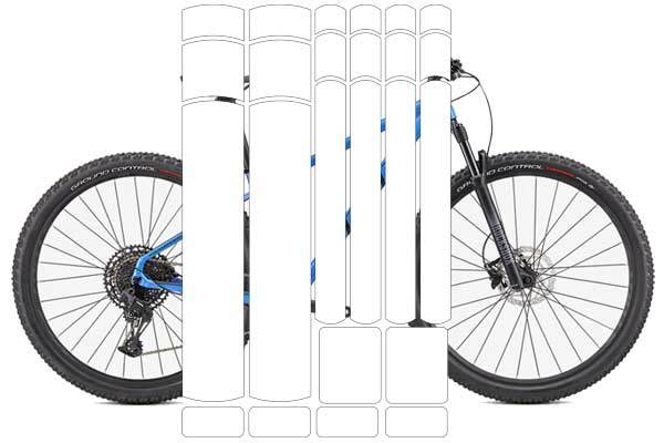 New Items - Universal Pre-Cut Bicycle Protection Kits!
