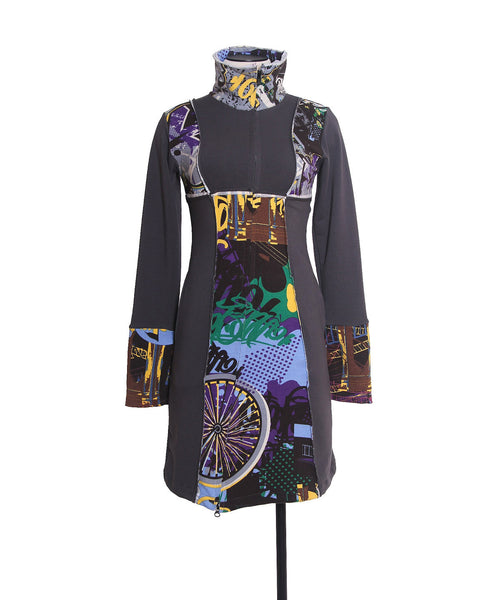 The Brooklyn Bridge Jacket Dress - Animated Closet