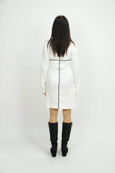White Jacket Dress - Animated Closet NYC