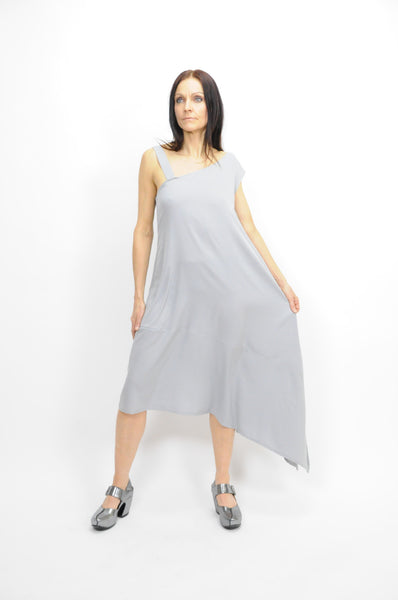 Asymmetric Off-Shoulder Dress - Lococina for Voguemobile