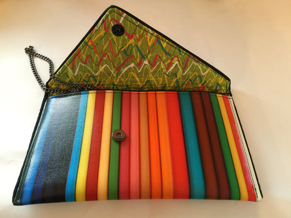 Coloured Pencil Clutch - Kent Stetson