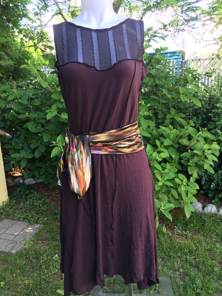 Reclaimed Textile & Bamboo Dress - Lili Soleil
