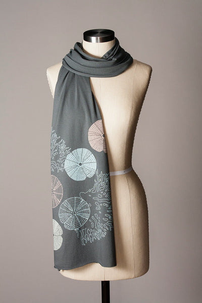 Urchin and Coral Scarf - Flytrap