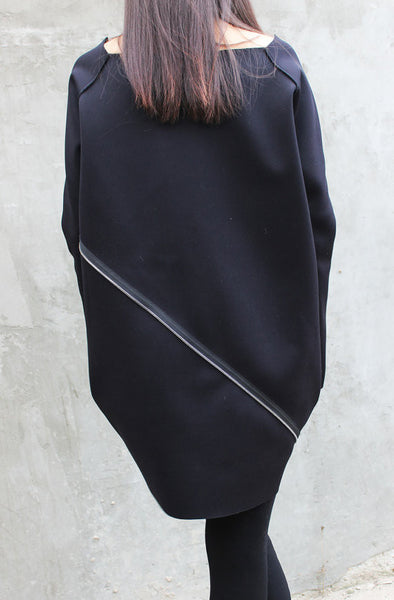 Neoprene Maxi Zipper Top - FRKT