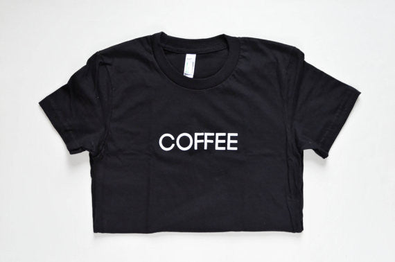 Women's Black Coffee T-Shirt - Sophster-Toaster