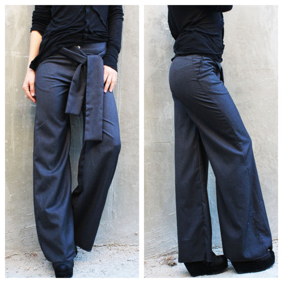 Wide Leg Trousers - FRKT