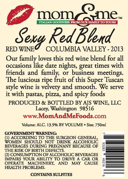 Sexy Red Wine Blend - 12 Pack (save 10%)