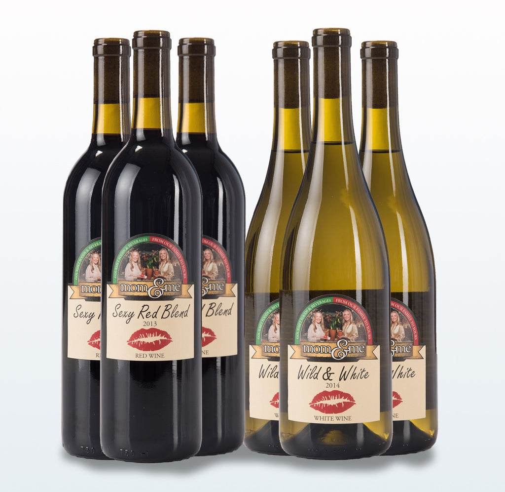 Mixed Red & White Wines - 6 Pack (save 5%)