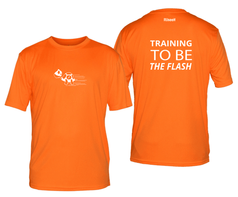 RUSEEN Reflective Apparel - Training to be The Flash - Men's Short Sleeve