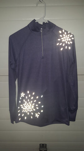 RUSEEN Reflective Apparel - Michele's Unique Boutique - Custom Quarter-Zip
