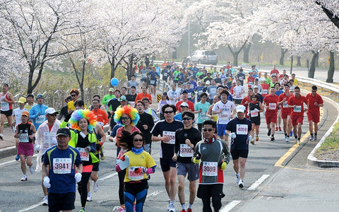 RUSEEN Reflective Apparel - Cherry Blossom 10 Miler