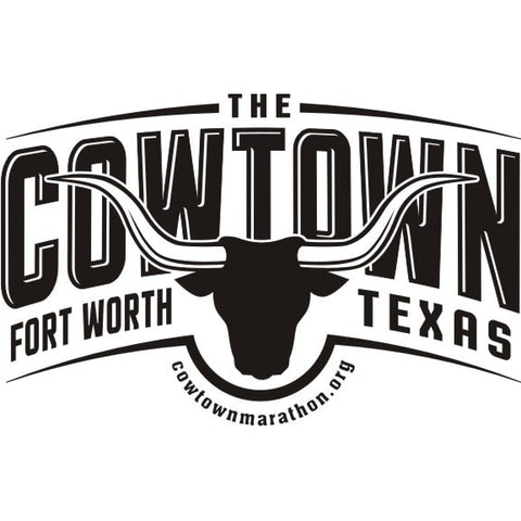 Cowtown Marathon Expo Logo, Fort Worth, Texas