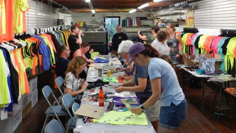 RUSEEN Reflective Apparel - Craft Night - Make Your Own Custom Shirt