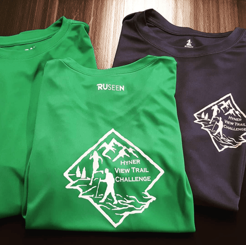 RUSEEN Reflective Apparel - Custom Order - Hyner View Trail Challenge
