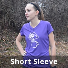High Visibility and Reflective Short Sleeve Shirts for Women