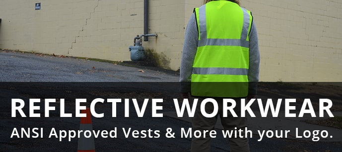 Reflective Workwear - ANSI Approved with Custom Logo
