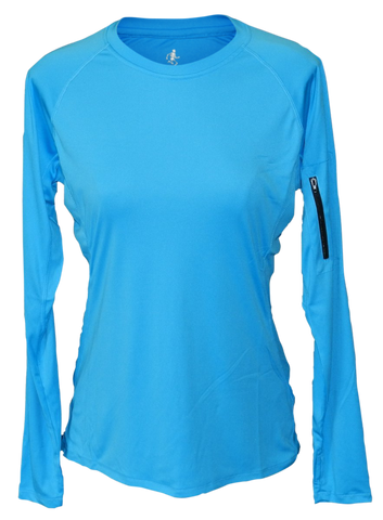 Women's Reflective Long Sleeve Shirts - Drifit fabric