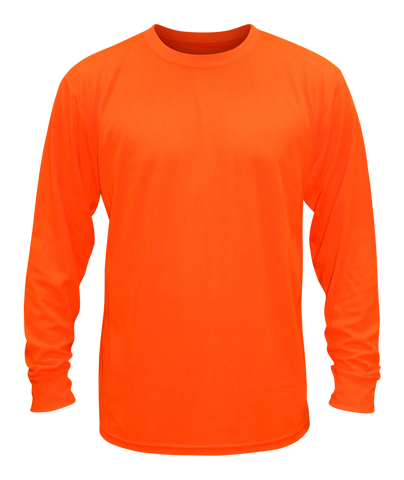 Women's Reflective Long Sleeve Shirts - Knit Unisex