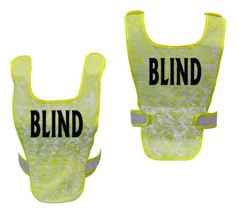 Reflective & High Visibility Vests for Visually and Hearing Impaired Athletes