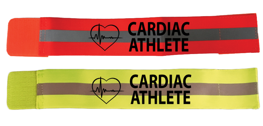 Cardiac Athlete Reflective Elastic Arm Band, Leg Band