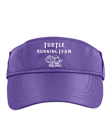 Reflective Visor - Turtle Running Team - Purple front
