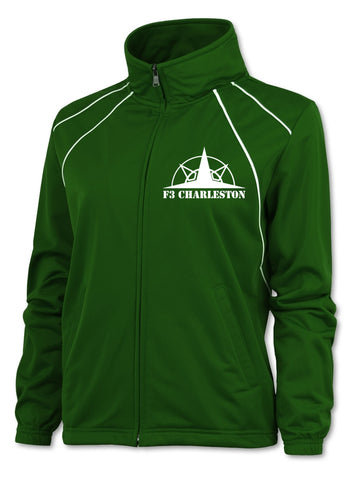 Men's Reflective Jacket - Charleston F3 - Kelly Green - Front