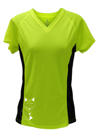 Women's Reflective Short Sleeve Shirt - Fox