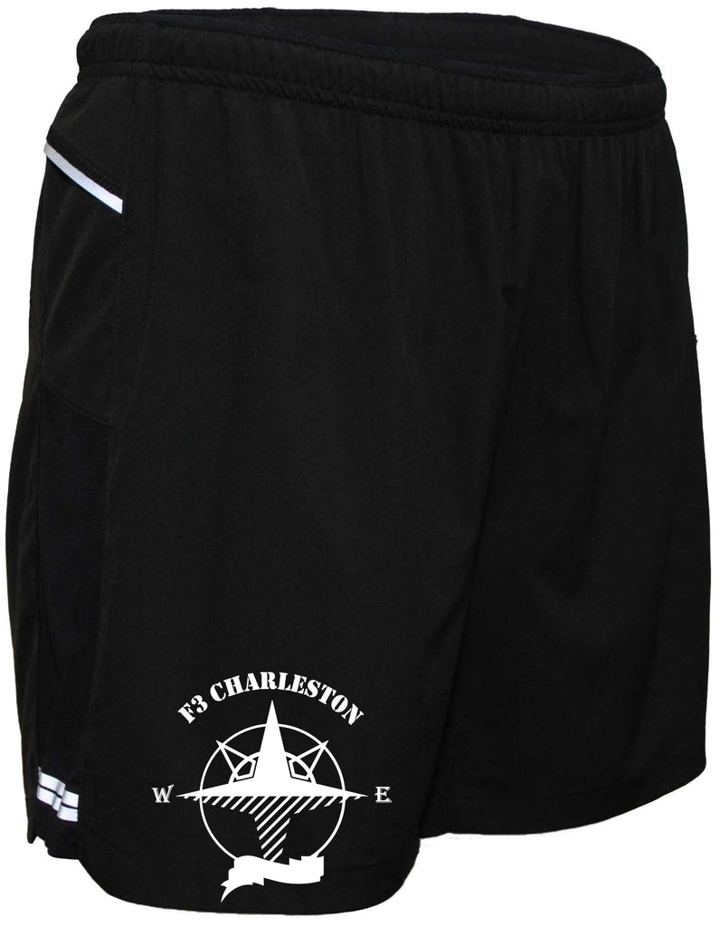 "Men's Reflective Running Shorts 5 & 7"" Charleston F3"