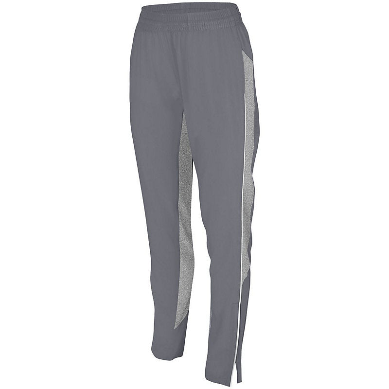 LADIES REFLECTIVE TRACK PANTS - Front – Graphite