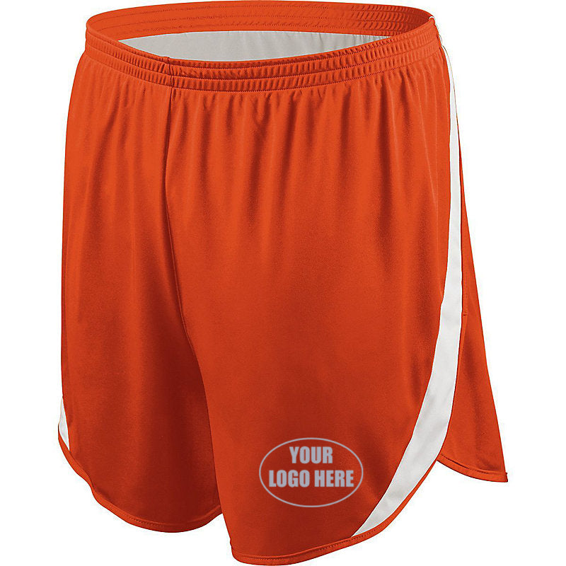 Mens Custom Reflective Track Shorts