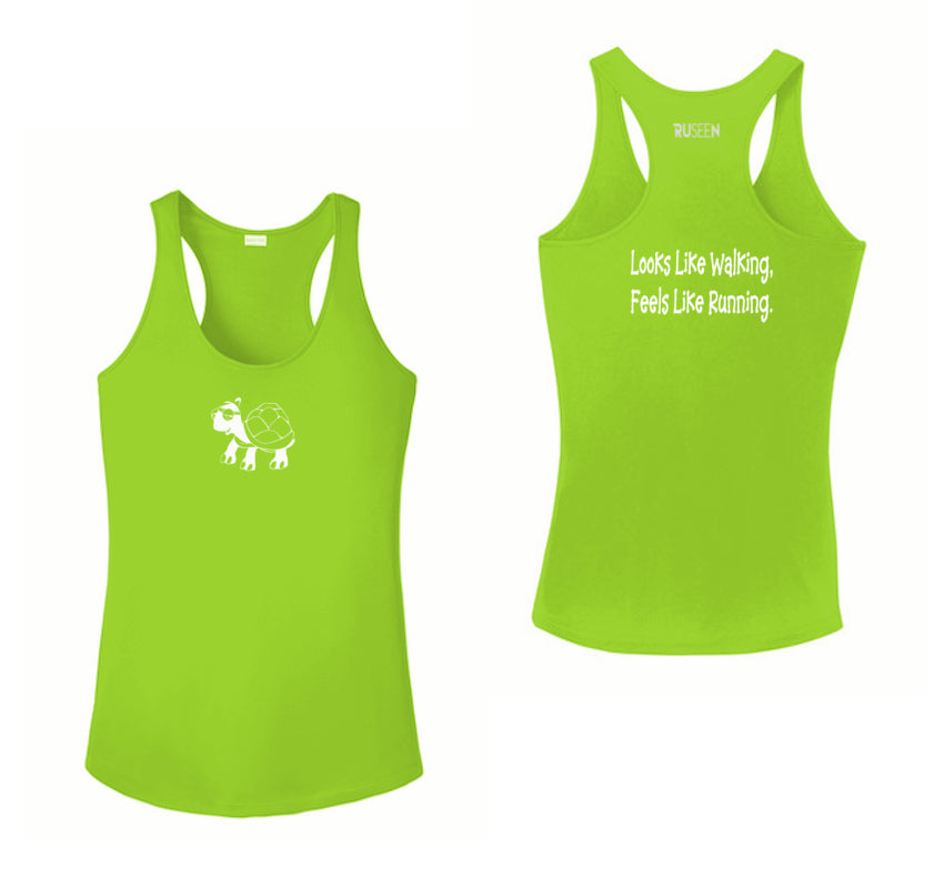 Women's Reflective Tank Top - Looks Like Walking