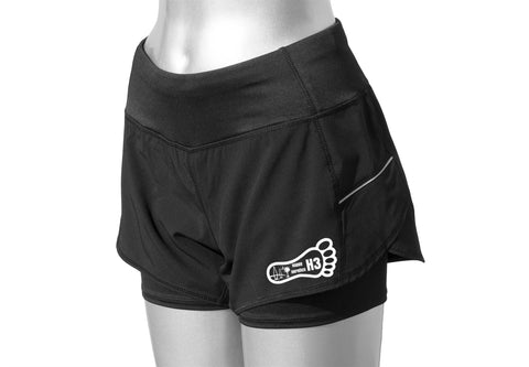Women's Reflective H3 Shorts - Happy Heretics