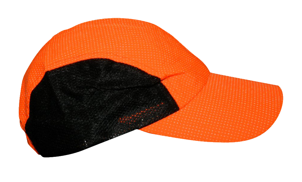 Reflective Hat - Orange Dots - Orange - Side