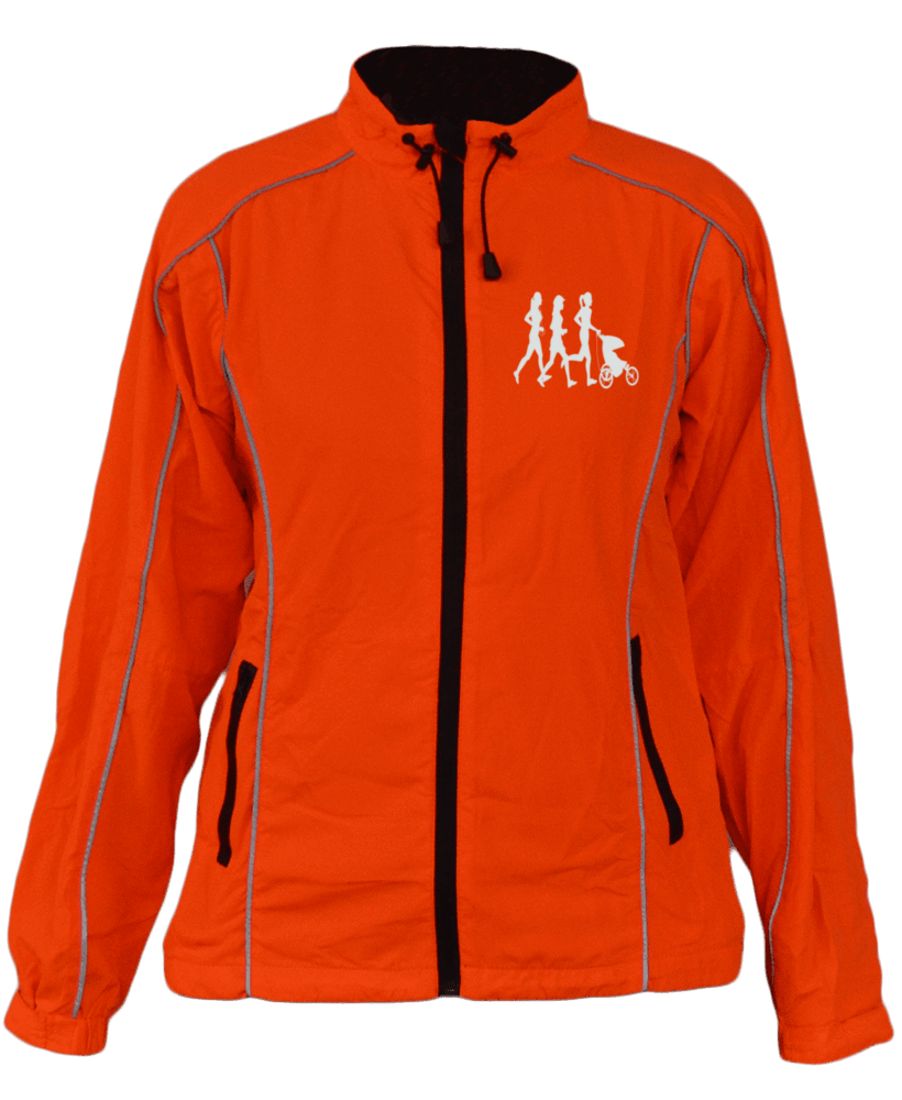Women's Reflective Windbreaker - 2 Colors - Moms Run This Town