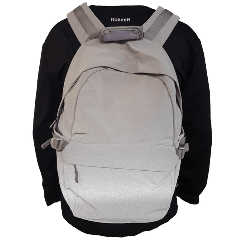 Unisex Reflective Backpack - Gray