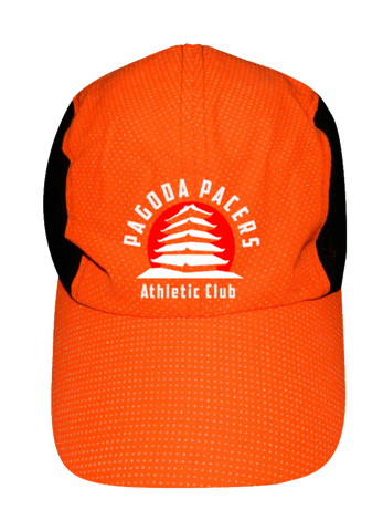 Reflective 4 Panel Hat - Reading Pagoda Pacers - Orange Dots