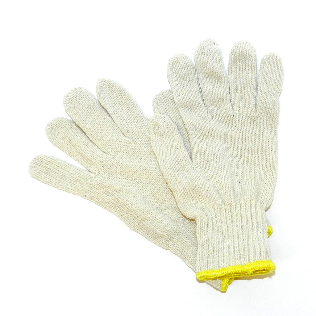Disposable Premium Cotton/Polyester String Knit Glove