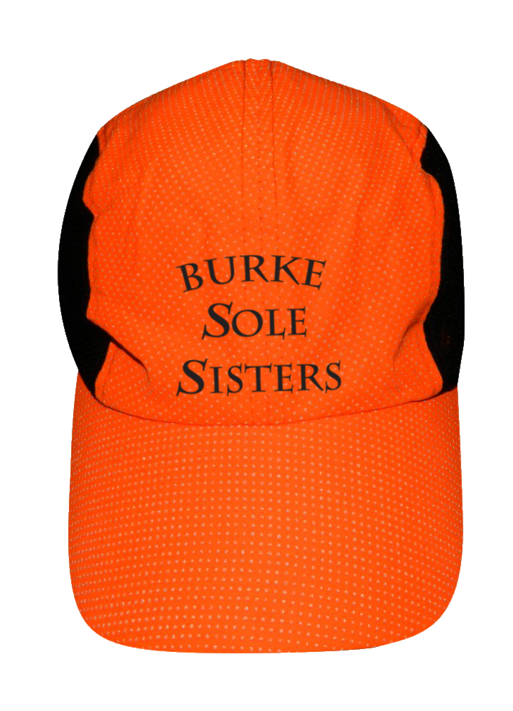 REFLECTIVE 4 PANEL HAT - BURKE SOLE SISTERS - ORANGE - Front