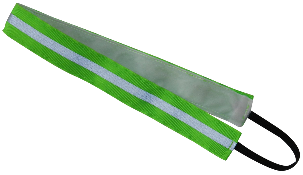 Reflective Headbands - Green