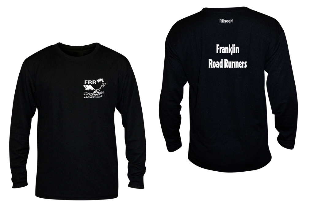 Women's Reflective Long Sleeve Shirt - Franklin Road Runners