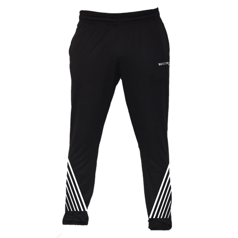 Men's Reflective Running Pants - Diagonal Stripes - Front