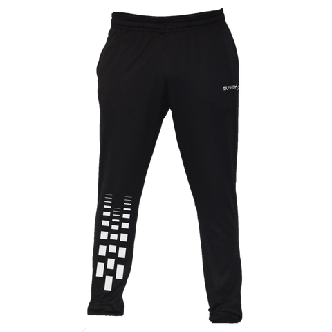 Men's Reflective Running Pants - Faded Path - Front