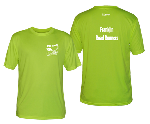 Men's Reflective Short Sleeve - Franklin Road Runners