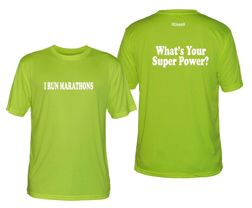 Men's Reflective Short Sleeve Shirt – Super Power