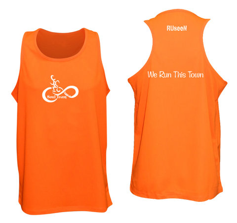 Men's Reflective Tank - Soul Team - Town