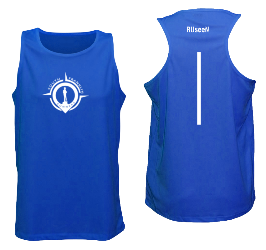 Men's Reflective Tank Top - South Franklin (TN) Runners