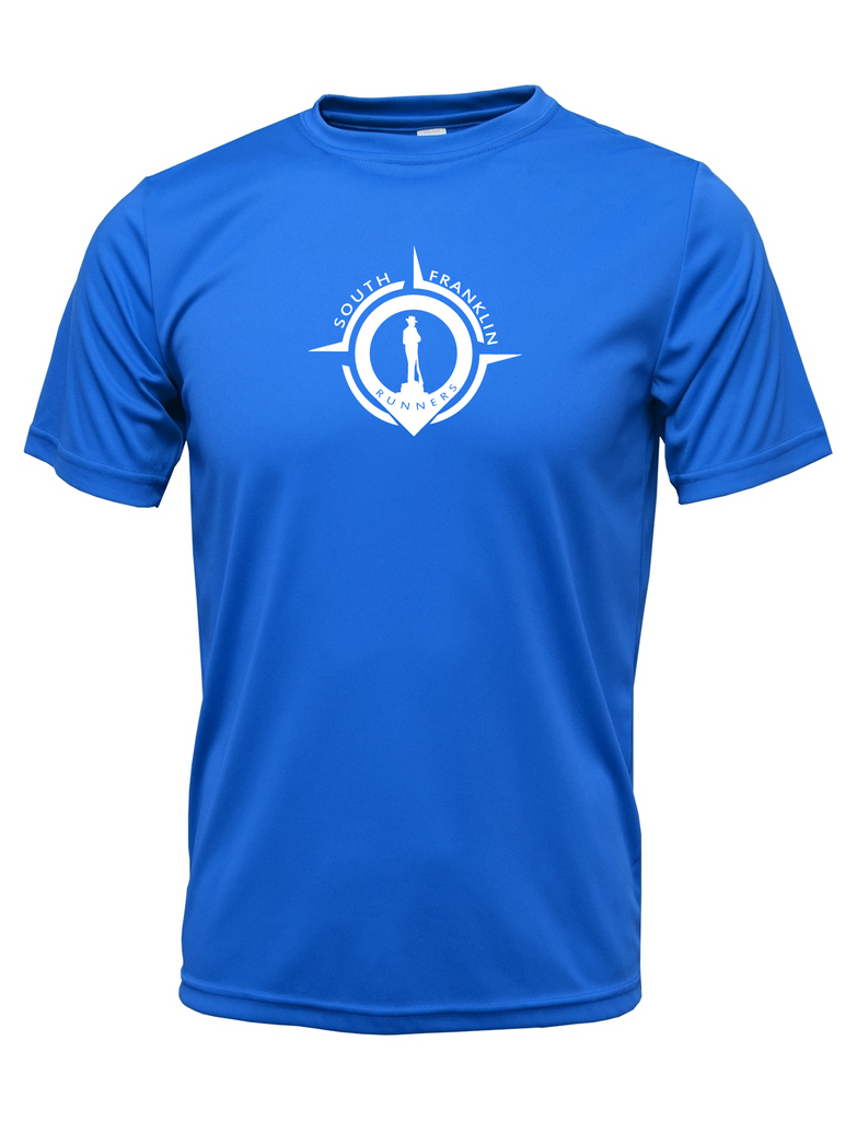 Men's Reflective Short Sleeve Shirt- South Franklin (TN) Runners