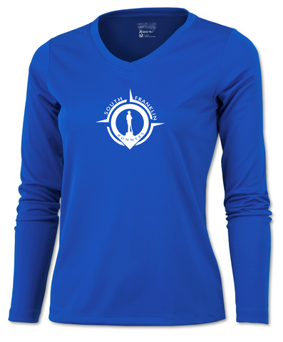 Women's Reflective Long Sleeve Shirt- South Franklin (TN) Runners