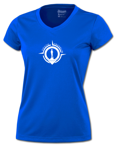 Women's Reflective Short Sleeve Shirt- South Franklin (TN) Runners